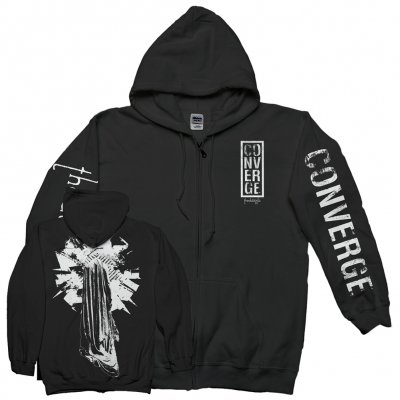 converge - The Dusk In Us Art Zip-Up Hoodie (Black)
