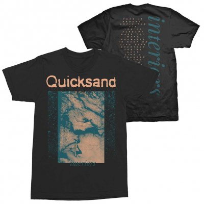 Quicksand - Interiors Tee (Black)