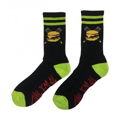 grill-em-all - Spatula Socks (Green)