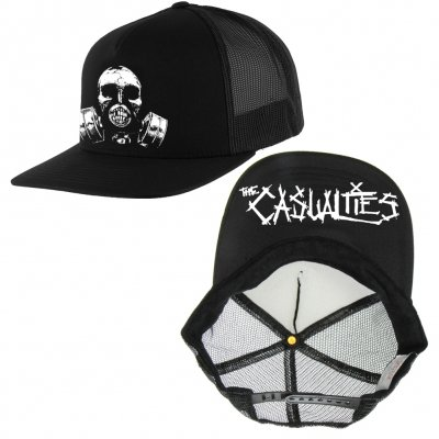 the-casualties - Gas Mask Trucker Hat