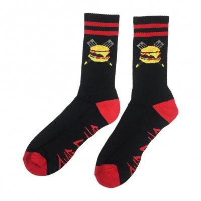 grill-em-all - Spatula Socks (Red)