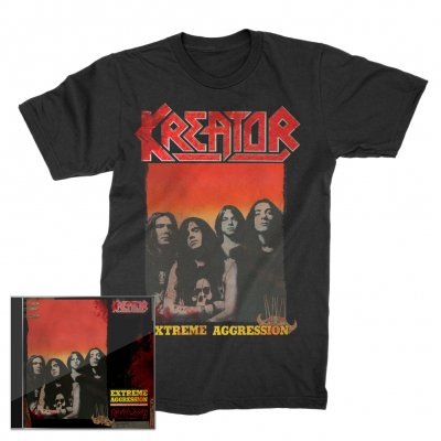 kreator - Extreme Aggression 2xCD + Extreme Aggression T-Shirt (Black) Bundle