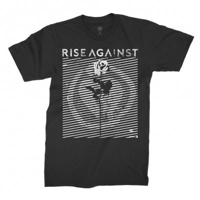 rise-against - Optic Rose Tee (Black)