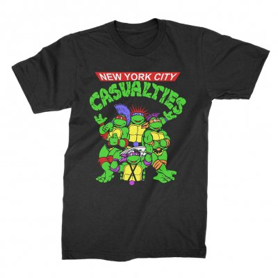 the-casualties - Turtles Tee (Black)