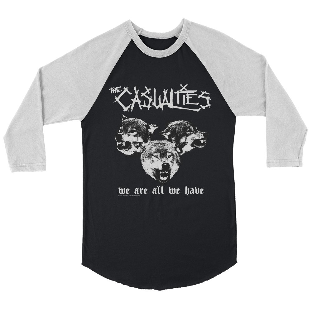 IMAGE | We Are All We Have Raglan (Black/White)