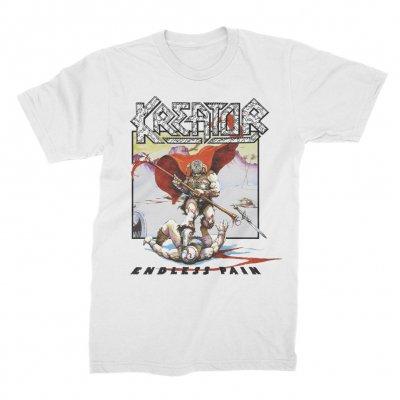 kreator - Endless Pain CD + Endless Pain T-Shirt (White) Bundle