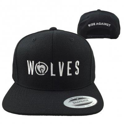 rise-against - Wolves Snapback Hat (Black)
