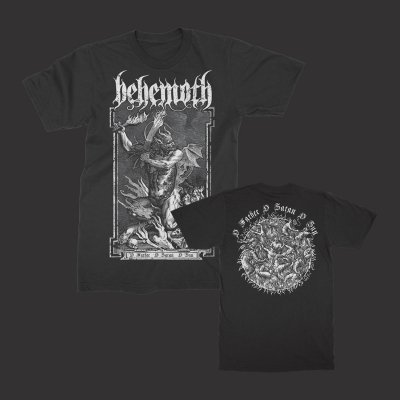valhalla - O' Father, O' Satan T-Shirt (Black)