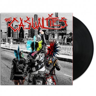 the-casualties - Chaos Sound LP (Black)