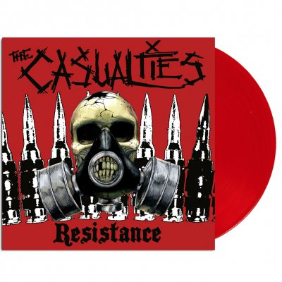 the-casualties - Resistance Vinyl (Red)