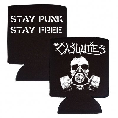 the-casualties - Gas Mask Coozie