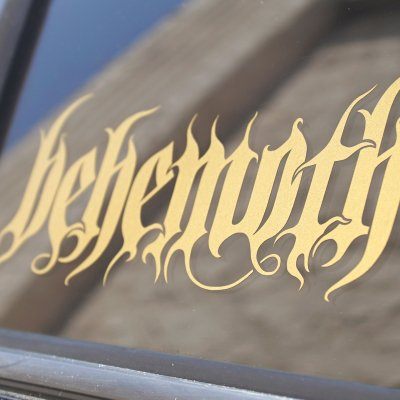 valhalla - Gold Logo Decal