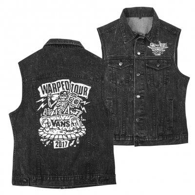 vans-warped-tour - 2017 Eagle Denim Vest