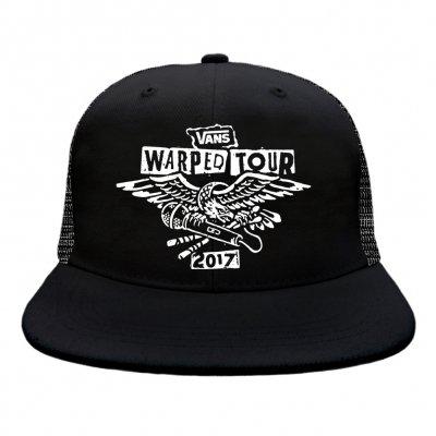 vans-warped-tour - 2017 Eagle Trucker Hat