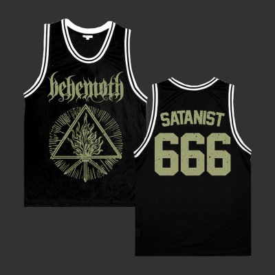 behemoth - Holy Trinity Basketball Jersey (Black)