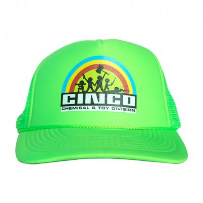 tim-and-eric - Cinco Rainbow Trucker Hat