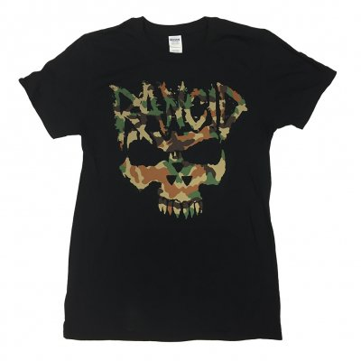 rancid - Camo Skull Tee (Black)