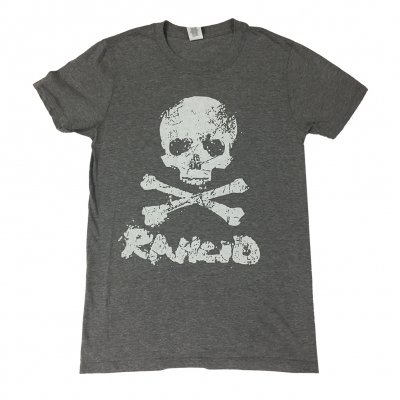 rancid - D Skull Tee (Heather Gray)