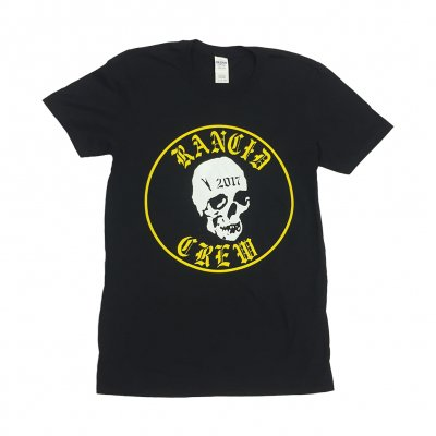 rancid - 2017 Skull Crew Tee (Black)