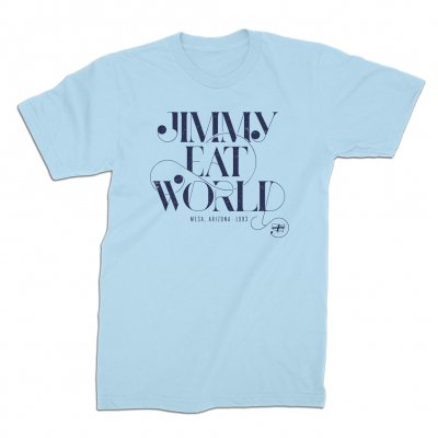 jimmy-eat-world - Swoop Tee (Baby Blue)