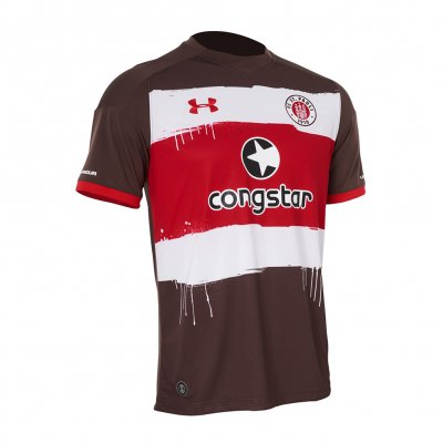 FC St Pauli - 2017 Home Jersey (Brown)