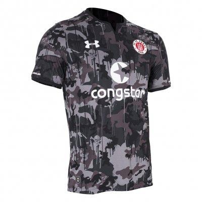 FC St Pauli - 2017 Third Jersey (Black Camo)