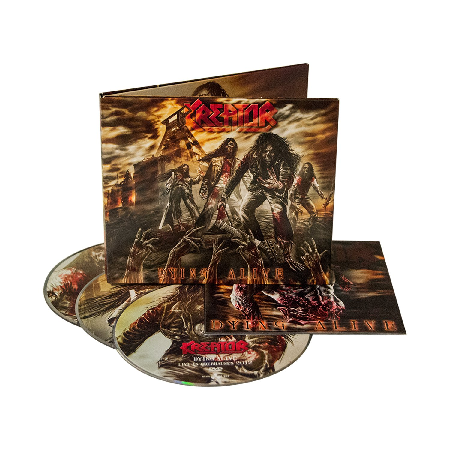 IMAGE   Dying Alive 2CD/DVD