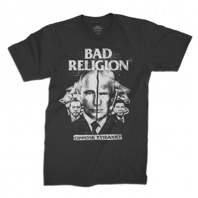 bad-religion - Oppose Tyranny Tee (Black)