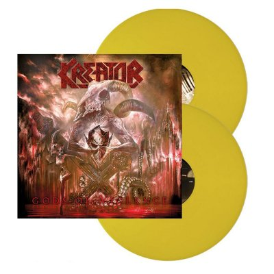 Kreator - Gods of Violence 2xLP (Yellow)