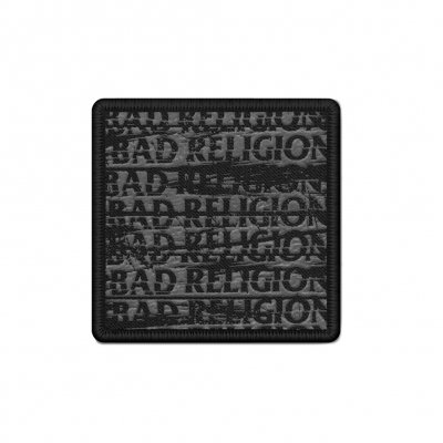 bad-religion - Embroidered Repeater Patch