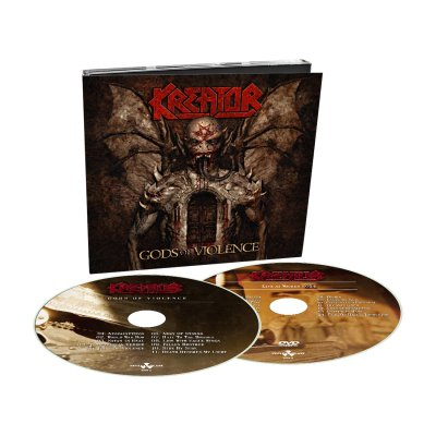 Kreator - Gods of Violence CD/DVD