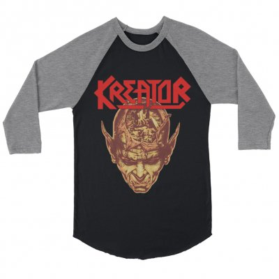kreator - Bosch Raglan (Black/Heather Grey)