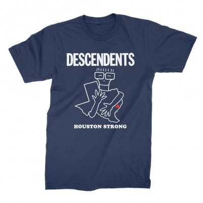 descendents - Houston Strong Fundraiser Tee (Blue)