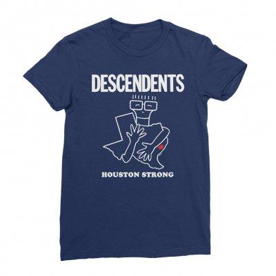 descendents - Houston Strong Fundraiser Women's Tee (Blue)