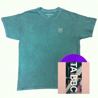 "touche-amore - Live on BBC Radio 1: Vol 3 7"" (Purple) + Embroidered Tee (Emerald) Bundle"