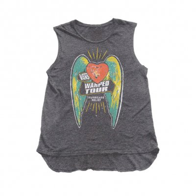vans-warped-tour - Hurricane Relief Womens Muscle Tank (Pre-Order)