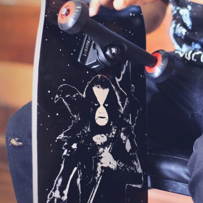 valhalla - Blizzard Pool Skateboard