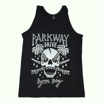 parkway-drive - Bone Skull Tank (Black)