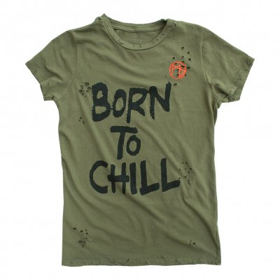 Born To Chill Womens Tee