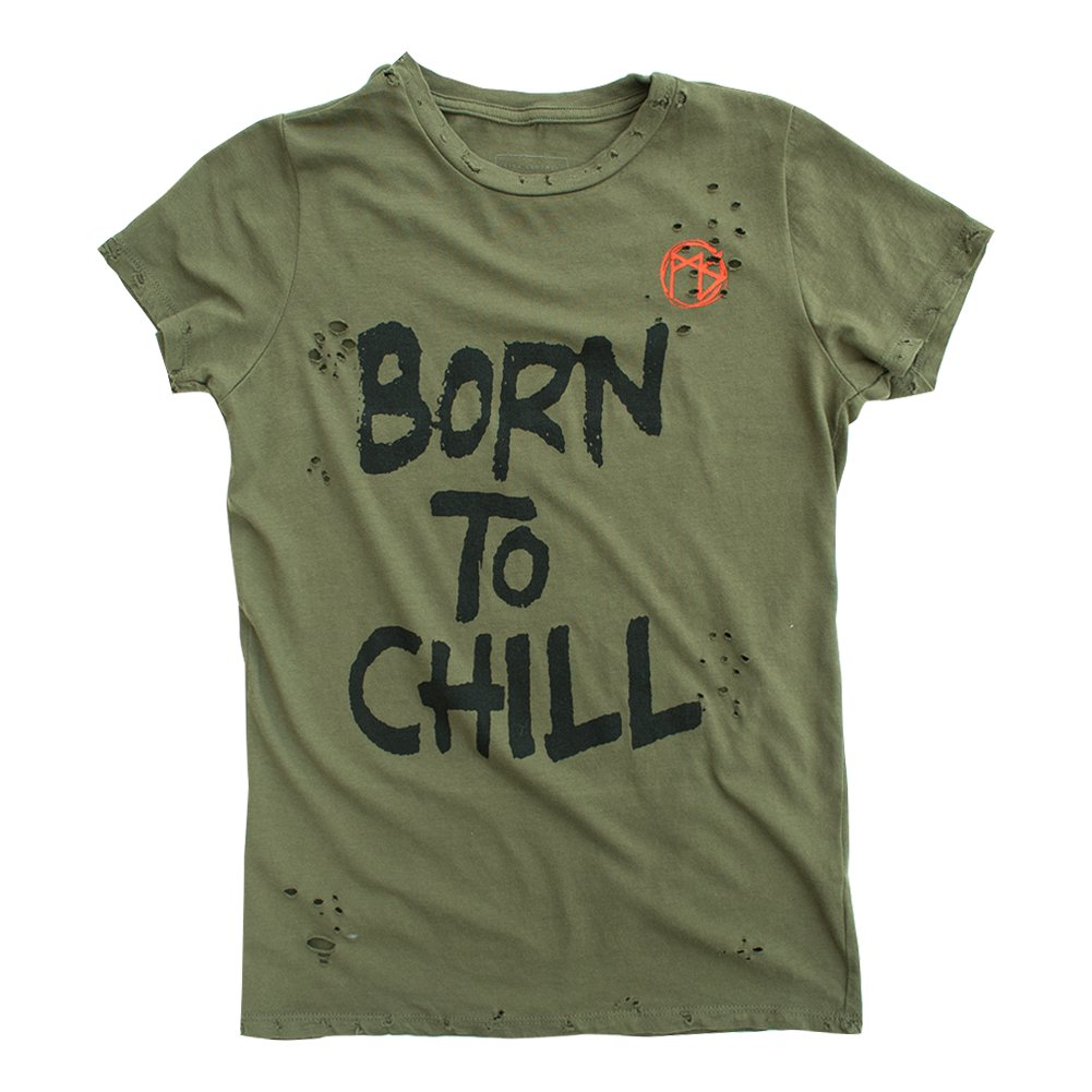 IMAGE | Born To Chill Womens Tee