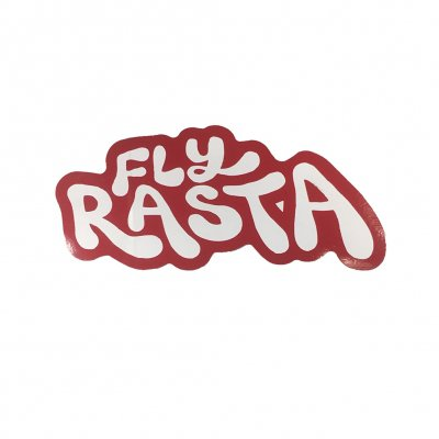 ziggy-marley - Fly Rasta Die Cut Sticker