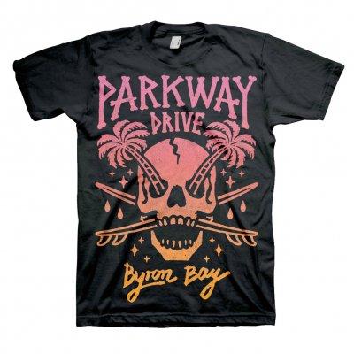 parkway-drive - Palm Skull Tee (Black)