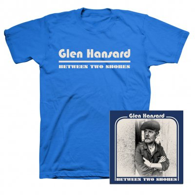 Glen Hansard - Between Two Shores CD + Tee (Blue) Bundle
