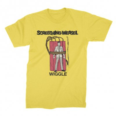 screeching-weasel - Wiggle T-Shirt (Yellow)