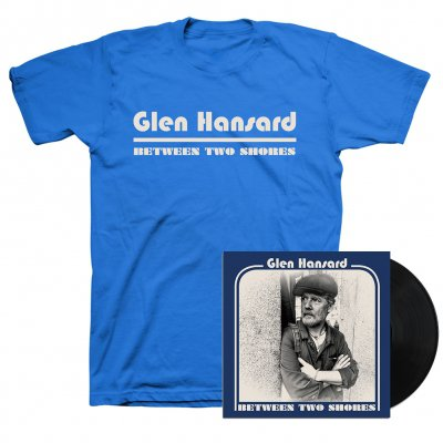 Glen Hansard - Between Two Shores LP (Black) + Tee (Blue) Bundle