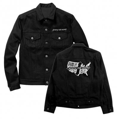 jimmy-eat-world - Limited Edition Across America Denim Jacket