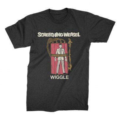 screeching-weasel - Wiggle T-Shirt (Black)