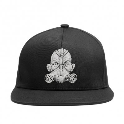 Gas Mask Snap Back Hat