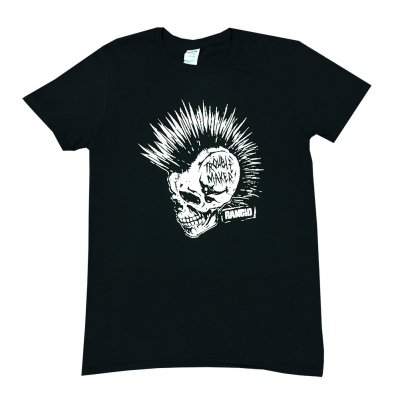 rancid - Trouble Maker Skull Tee (Black)