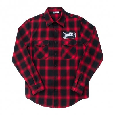 rancid - Logo Flannel (Black/Red)